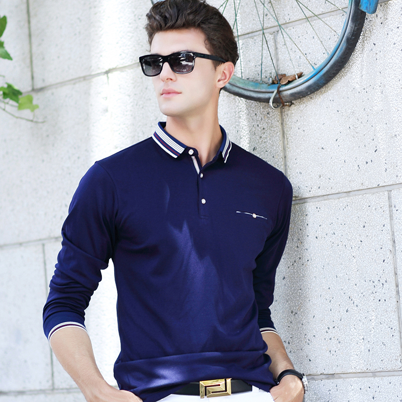 Custom High Quality Men Business Polo Shirts