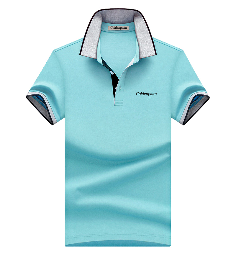 New Style 100% Cotton Short Sleeve Polo Shirts For Men