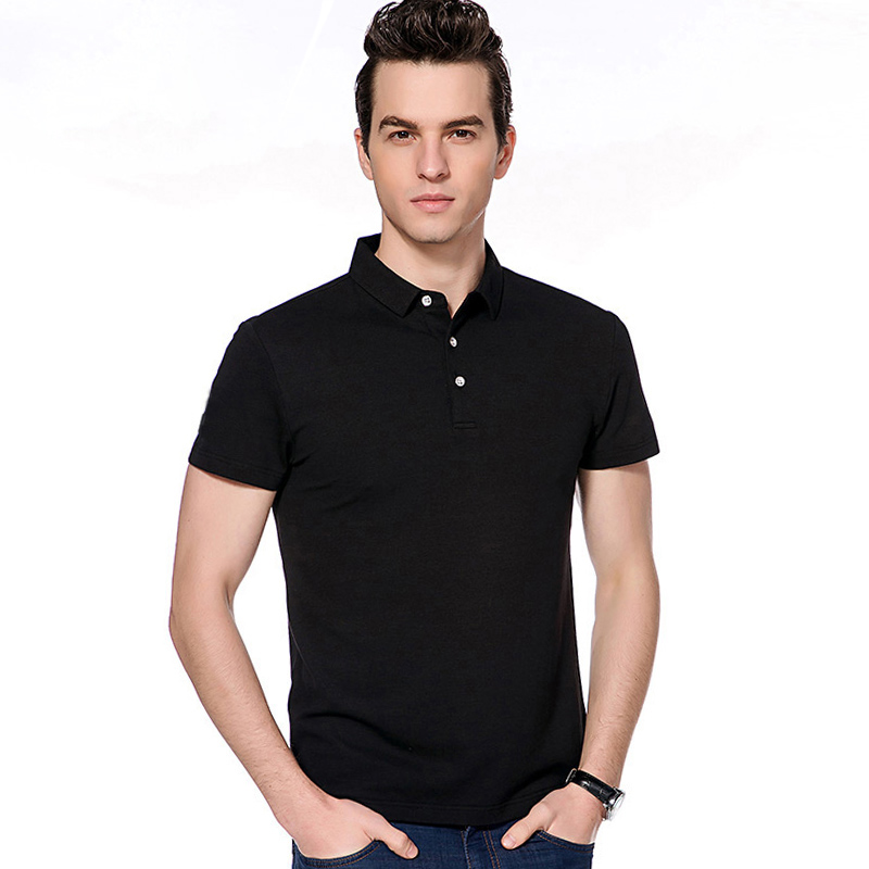 2017 wholesale 100% cotton custom men cheap polo shirts
