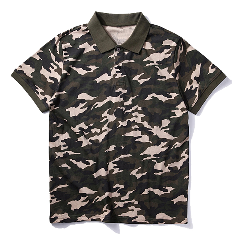 100% cotton polo shirts customized logo polo shirts uniforms camouflage polo shirts