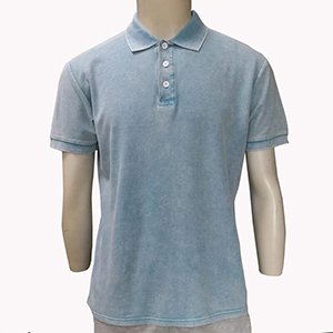 200gsm Ring spun Pigment/Garment Dyed blank polo shirt cotton