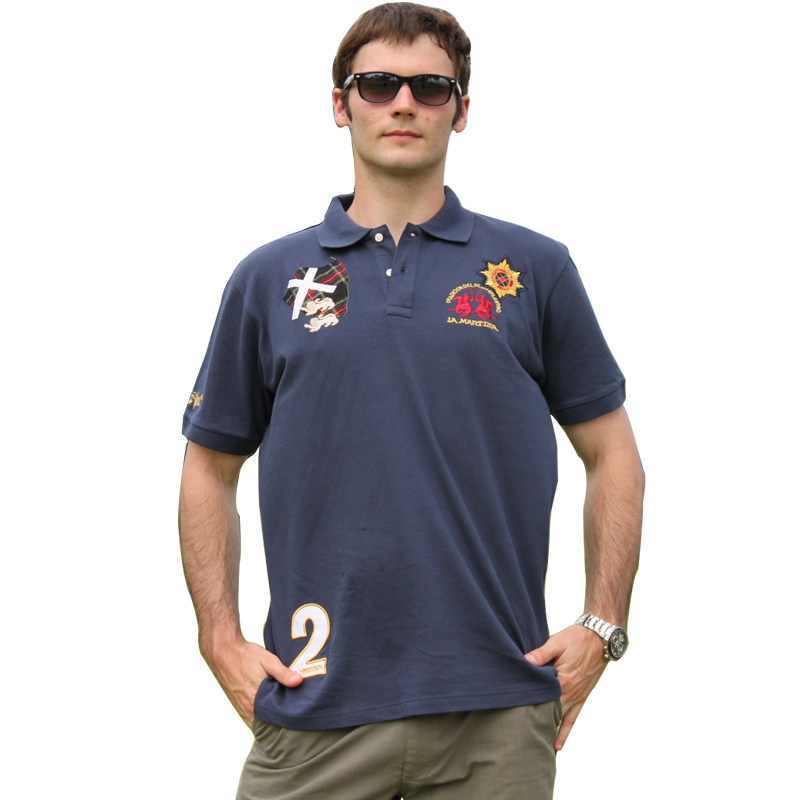 custom your own design embroidered polo t shirt 200 gsm polo t-shirt us polo t-shirts