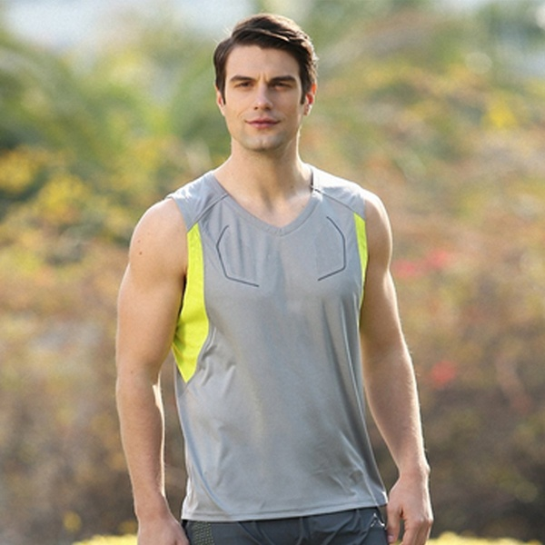 Mens Sport jersey fitness t shirt quick_dry running sleeveless vest Sleeveless Basketball Jersey
