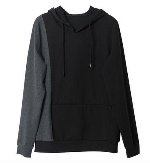 men spliced custom hoodies cheap