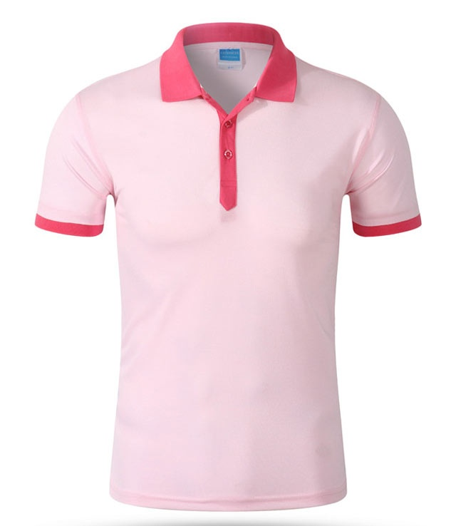 Promotion Contrast Color Designer Uniform Polo Shirt
